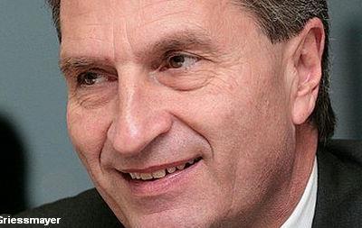 Еврокомиссар по энергетике: справедливая цена на  российский газ для Украины 350-380 долл/тыс кубометров