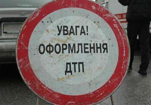 В Киеве за девять месяцев произошло почти полторы тысячи ДТП