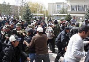 Милиция разогнала митинг оппозиции в Кыргызстане