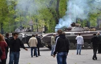 В Мариуполе вооруженные люди напали на пост Нацгвардии – журналист