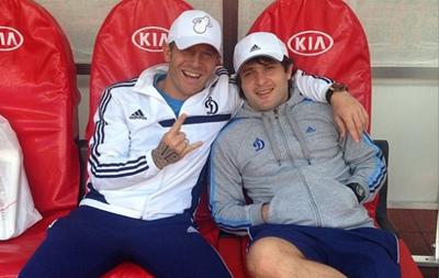 Андрей Воронин попрощался с болельщиками Динамо
