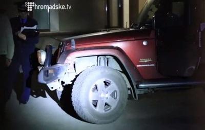 Джип Симоненко целый, нападения не было - очевидец