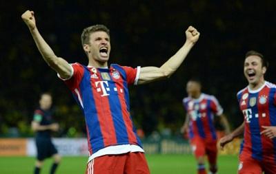 Кубок Германии: Бавария в дополнительное время побеждает Боруссию