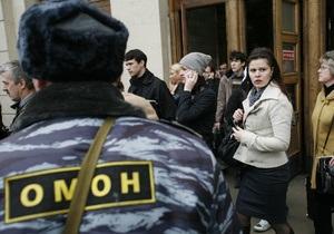 СМИ: В Москве задержаны трое мужчин со взрывчаткой