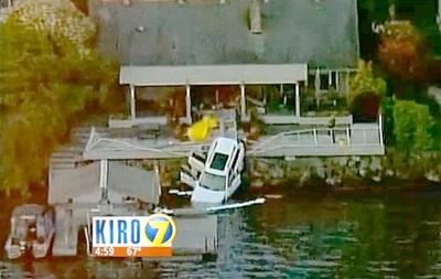 Пожилая американка убила своего мужа, пытаясь припарковаться