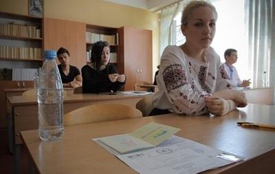 ВНО в Луганской и Донецкой областях