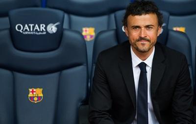 Барселона представила Луиса Энрике в качестве главного тренера клуба