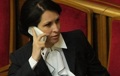 Оксана Калетник заявляет о выходе из фракции КПУ