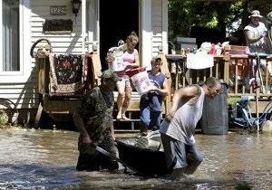 В Айове из-за сильнейшего наводнения эвакуированы десятки тысяч человек