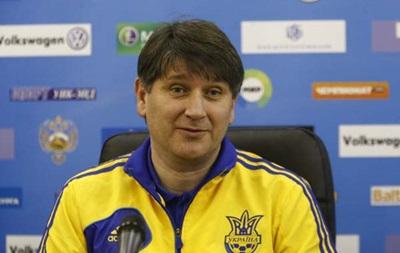 Тренер молодежной сборной Украины назвал состав на матчи отбора Евро-2015