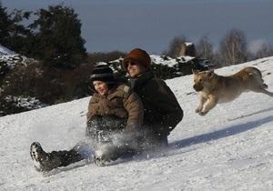 В Украину идут январские морозы