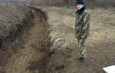Возле Краснодона неизвестные пытались засыпать защитный ров - Госпогранслужба
