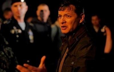 Ляшко заявляет об освобождении от сепаратистов горисполкома в Торезе