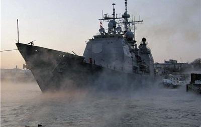 Американский крейсер Vella Gulf вошел в Черное море - источник