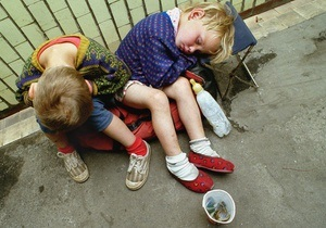 Киевские власти проведут рейд Дети улицы