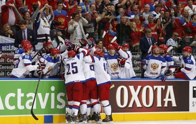Хоккей: Сборная России выигрывает золото чемпионата мира в Минске