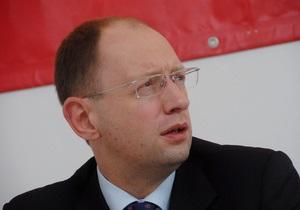 Яценюк заявил о необходимости нового газового контракта: Украина дотирует Газпром