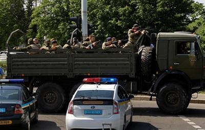 В Донецке ограничили движение автотранспорта в связи с АТО