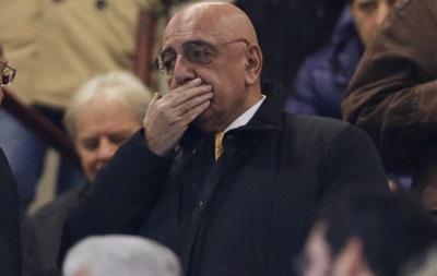 Милан готов распрощаться с Адриано Галлиани