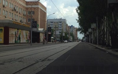В связи с Антитеррористической операцией ограничен въезд транспорта  в Донецк