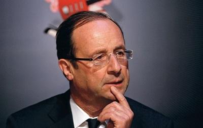 Олланд намерен обсудить с Путиным украинский кризис