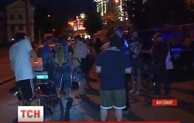 В Житомире захватчики освободили из плена  20 заложников