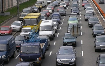 По случаю Дня Киева в столице на три дня ограничат движение транспорта