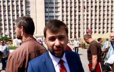 Лидер ДНР о баррикадах: Мы не будем здесь растить редиску