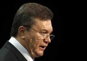 Янукович об оппозиции: Все скажет суд и следствие