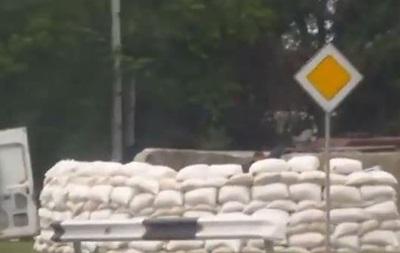 В Донецке появился новый блок-пост