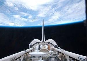 Шаттл Atlantis пристыковался к МКС