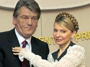 Тимошенко сожалеет, что отравление сказалось на внешности Ющенко