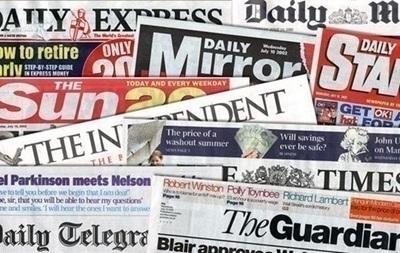 Обзор прессы Британии: Помочь Украине, а не наказать Россию