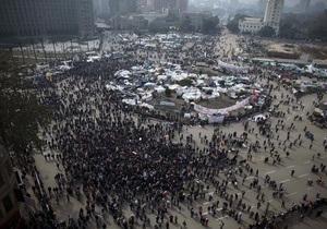 Демонстранты площади Тахрир замерли в ожидании речи президента Египта