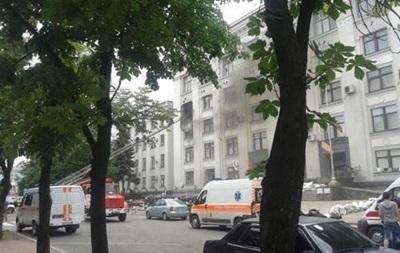 Взрыв в Луганской ОГА произошел из-за ракеты, выпущенной из здания СБУ – МВД