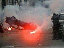 Рыбаки устроили погром у здания ЕС в Брюсселе