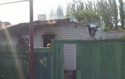 В Красном Лимане в результате обстрела разрушен жилой дом