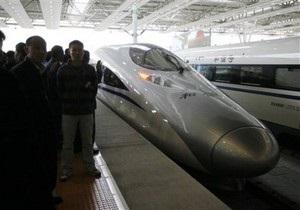 Китай установил мировой рекорд скорости пассажирского поезда