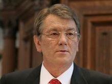 Ющенко посетил Рождественское богослужение в Ивано-Франковской области