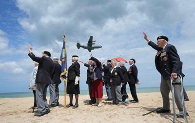 У Франції почали відзначати 70-ту річницю висадження союзників у Нормандії