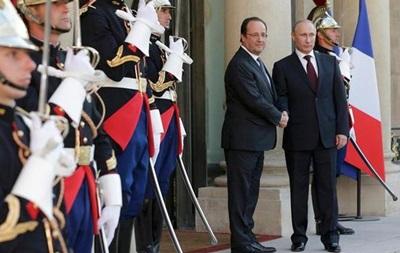 Олланд говорил с Путиным о перемирии в Украине - глава МИД Франции
