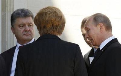 Путин: Мне понравился настрой Порошенко на необходимость прекращения кровопролития на Донбассе