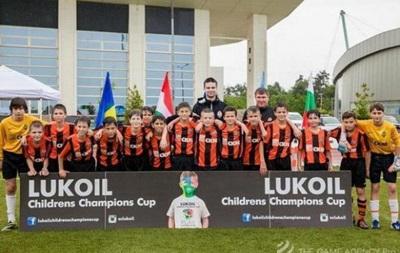 Команда Шахтера выиграла детскую Лигу чемпионов