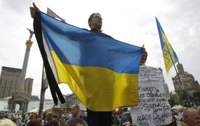 На Майдане зачитали  народный наказ  новому президенту Порошенко