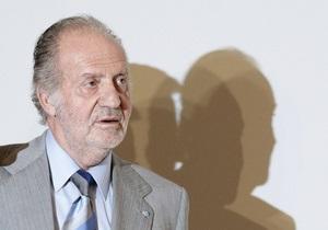 Король Испании попал в больницу