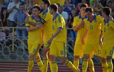 Молодежная сборная Украины вырвала победу у Латвии на последних секундах