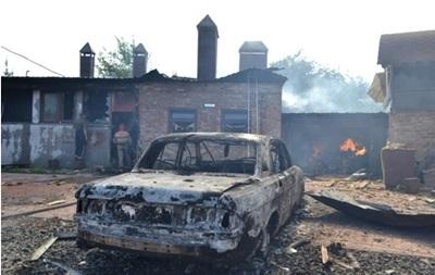 Огонь на поражение. Славянск и Семеновка после артобстрела