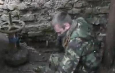 Ополченцы подорвали ведущий в Луганский аэропорт водопровод
