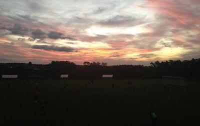 ЧМ-2014: Сборная Гондураса первую тренировку в Бразилии провела в темноте
