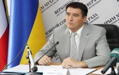 В Крыму отправили в отставку первого вице-премьера Рустама Темиргалиева